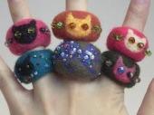 yjimage-1-猫さんフェルトの指輪