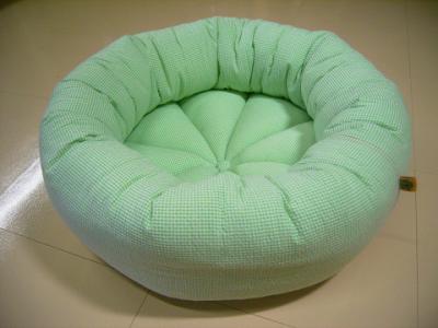 resize0945-400x300-ギンガムチェック凸凹生地の丸型ベッド Mサイズ
