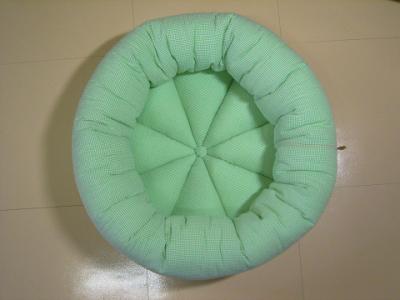 resize0946-400x300-ギンガムチェック凸凹生地の丸型ベッド Mサイズ