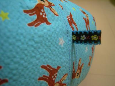 resize0952-400x300-手作り丸い猫ベッド・凸凹生地バンビ!